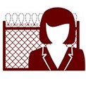 Graphic of attorney in front of a fence with barbed wire